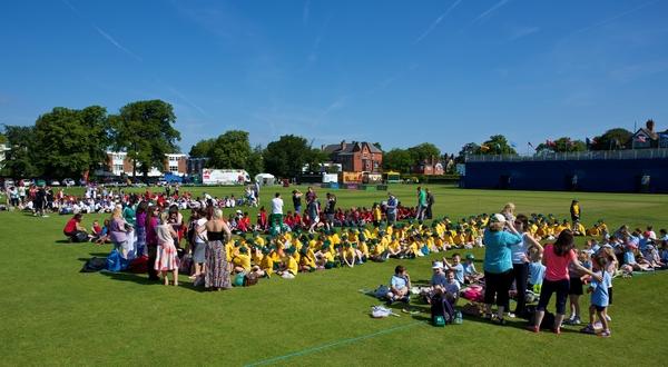 Tennis - Liverpool International Tennis Tournament 2014 - Kids Day